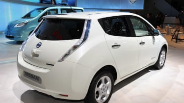 Used Nissan Leaf - rear static