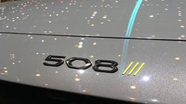 Peugeot 508 Sport Engineered concept badge