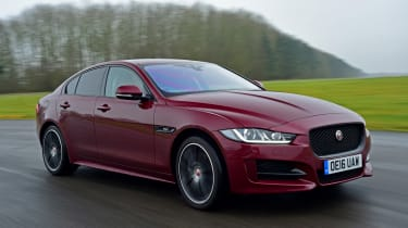 Jaguar XE - front action