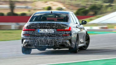 BMW M340i xDrive prototype - rear action