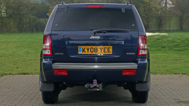 Used Jeep Grand Cherokee - full rear