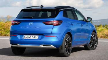 Vauxhall Grandland PHEV - rear static