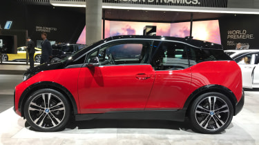 BMW i3s - Frankfurt side
