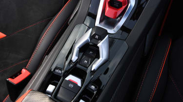 Lamborghini Huracan Evo Spyder - transmission