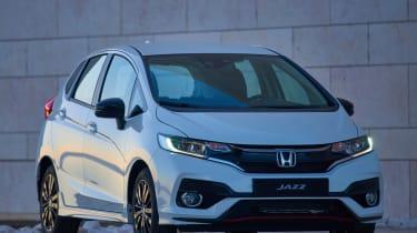 Honda Jazz facelift - front twilight