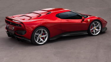 Ferrari SP38 - rear