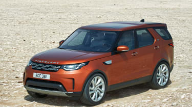 Land Rover Discovery 2017 - official front tracking