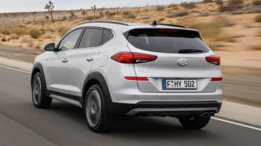 Facelifted Hyundai Tucson - rear