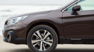 New 2018 Subaru Outback alloy wheel