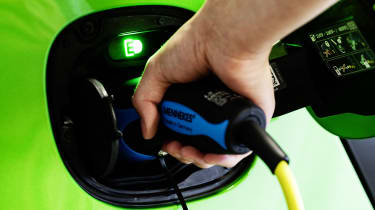 Smart ForFour Electric Drive plug in