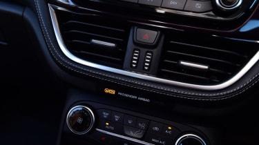 Ford Fiesta Vignale controls
