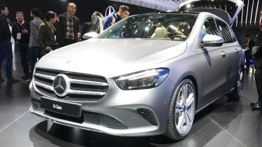 Mercedes B-Class - Paris front