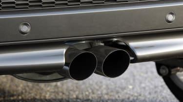MINI Coupé exhaust pipe