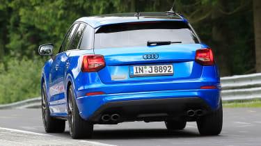 Audi SQ2 spy shots - rear tracking 2