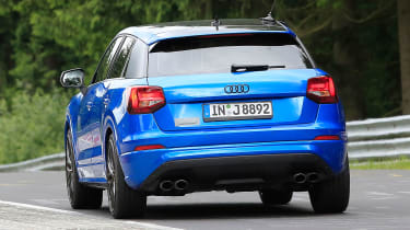 Audi SQ2 spy shots - rear tracking 2