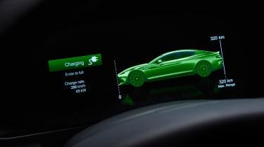 Aston Martin Rapide E - screen