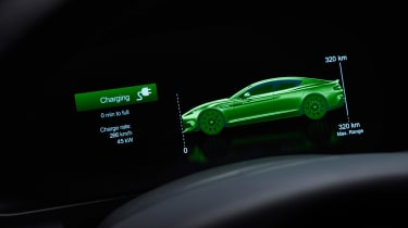 Aston Martin Rapide E - screen