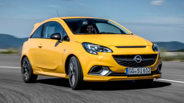 Vauxhall Corsa GSi - front action