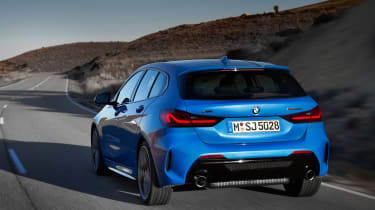New BMW M135i 2019 1 Series rear