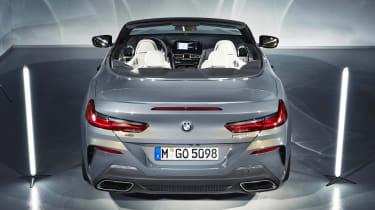 BMW 8 Series Convertible - rear