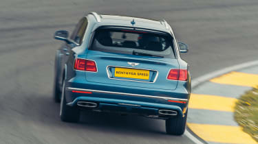 Bentley Bentayga Speed - rear cornering