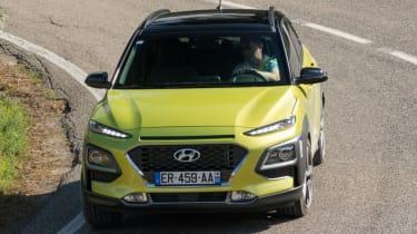 Hyundai Kona Premium SE 2017 - front action