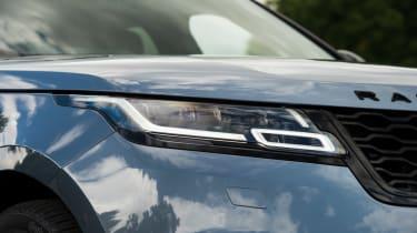 Range Rover Velar - headlight close-up
