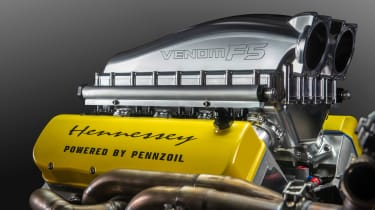 Venom F5 engine - head
