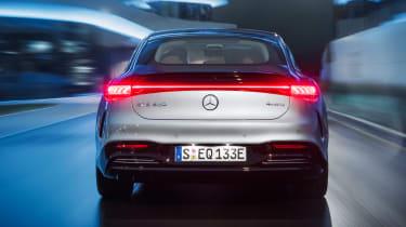 Mercedes EQS - full rear