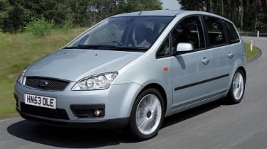 Front view of Ford Focus C-MAX