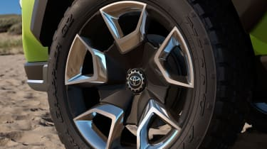 Toyota FT-AC Concept - wheel