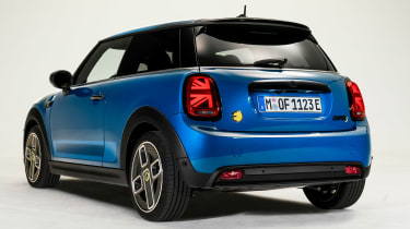 MINI Electric facelift - rear