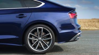 Audi A5 Sportback - rear profile