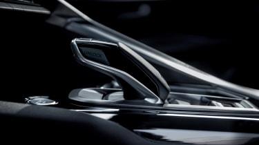 Peugeot 3008 - gear stick detail