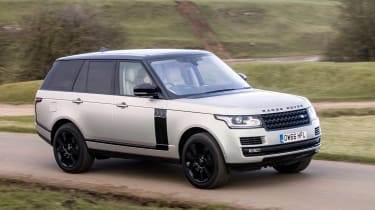 Range Rover Autobiography - front panning