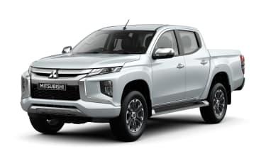 Mitsubishi L200 - front static white