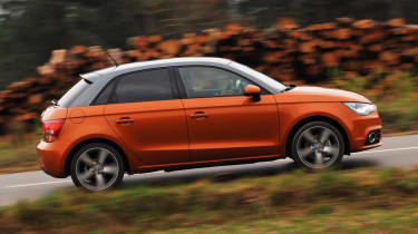 Audi A1 Sportback panning