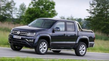 Volkswagen Amarok V6 - front tracking press