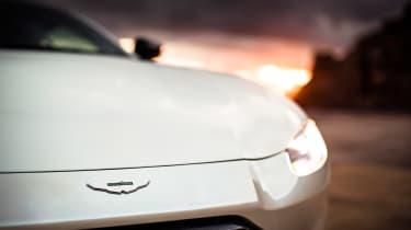 Aston Martin Vantage - front light dusk