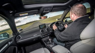 Audi RS3 long-term test review - interior