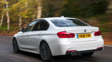 BMW 3 Series - rear tracking
