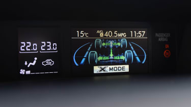 Subaru Forester - drive mode