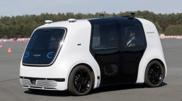 Volkswagen Sedric - front