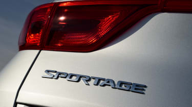 Kia Sportage - rear detail