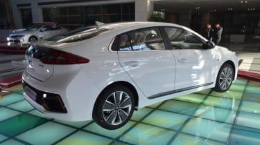 Hyundai Ioniq - Korea rear quarter
