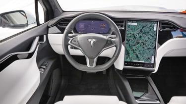 Tesla Model X - dash