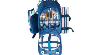 Family Holiday Kit - Eurohike Picnic Kit and Backpack