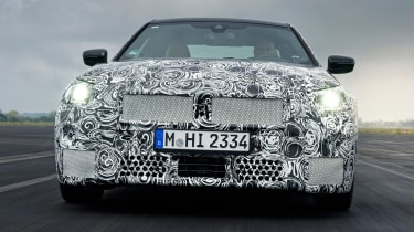 BMW 2 Series Coupe prototype - full front