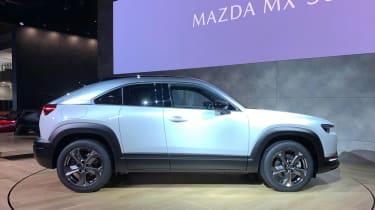 New Mazda MX-30 side