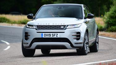 Range Rover Evoque - front cornering